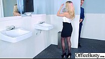 (Rachel RoXXX) Girl With Round Big Tits In Hard Style Sex In Office clip-25