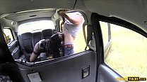 6636 Ebony strip club dancer gets fucked hard in a taxi preview