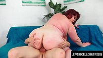 Jeffs Models - Fat Busty MILF Shanelle Savage Cowgirl Compilation 3
