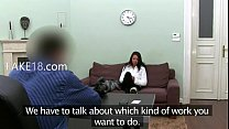 1-Brunette schoolmate teasing fake agent on sofa-2015-03-12-03-41-048
