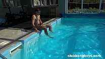 Tim Jerks Off his Friend and Then Plays in the Pool