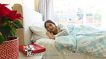 PASSION-HD Christmas fuck and facial after Riley Reid opens sex gift thumbnail