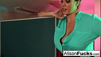 Capri caught on a sexy call by her Boss which leads to sex
