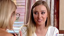 Image: College Girls Having First Time Lesbian Sex - Haley Reed and Emma Hix