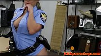 Pawnshop latina cop doggystyled out the back