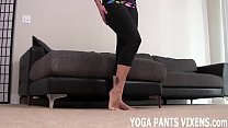 You can jerk off to me while I do my yoga exercises JOI - Download mp4 XXX porn videos
