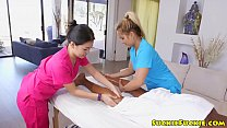 Asian Masseuses Sharing Bbc In Threesome