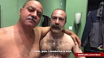 Hairy Daddies Fucking a Dude