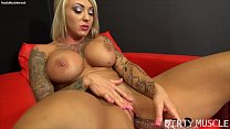 Dani Andrews - She's Masturbating With A Very Special Toy.