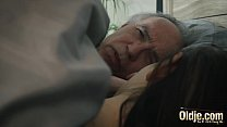 11216 Old and Young Horny young girl seduces grandpa and gets his cock inside her preview
