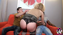Slutty Milf Béatrice Loves Gang Bang And Has A