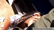 Ebony Police  And Brunette Anal Fetish First Time Juicy Latin Smuggler
