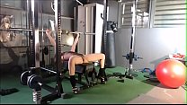 Dutch Olympic Gymnast workout video