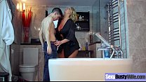 Busty Horny Housewife (Leigh Darby) Enjoy Hard Style Sex Action movie-22