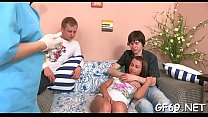 Lucky dude gets to play with two juvenile and h... Thumbnail
