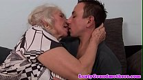 Hugetits granny loves getting pounded pornhub video