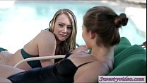 AJ Applegate and Dani Daniels like to eat pussy...