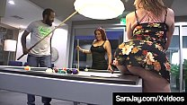 Cock Chocolate Stuffing With Sara Jay & Nicky F...
