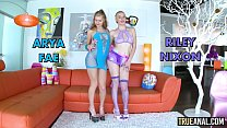 TRUE ANAL Big booty fucking with Angela and Kissa - 9Club.Top
