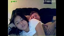 chubby asian teen gives a webcam show with her ... thumb