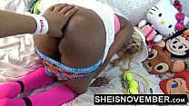 Tear My Black Tiny Asshole Open With Your Fingers Daddy I Love That Shit Ebony Amazing Butt Gape Msnovember HD Sheisnovember صورة