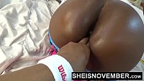 14780 Tear My Black Tiny Asshole Open With Your Fingers Daddy I Love That Shit Ebony Amazing Butt Gape Msnovember HD Sheisnovember preview