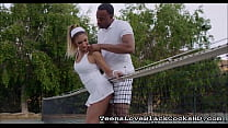 Teen Fucks Her Black Tennis Coach - TeensLoveBlackCocksHD.com
