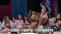 DANCING BEAR - All She Wanted For Her Bachelorette Party Was A Big Dick Male Ho, So We Gave Her Multiple!