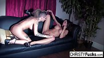 Busty Christy Mack And Capri Explore Each Others Bodies