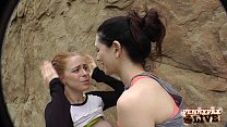 Amazing Hiking POV Threesome with Penny Pax and Sarah Shevon image