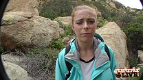 Amazing Hiking POV Threesome with Penny Pax and... thumb