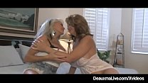 Busty Wife Deauxma Watches Hubby Anal Fuck Sally D'Angelo!