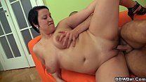 Brunette b. fat is picked up and fucked