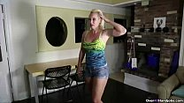 over40-Horny blonde milf POV handjob