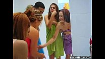 4 girls 1 guy and a lot of lotion thumb