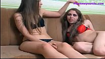 girl... her with fucked gets and fucks Transsexual