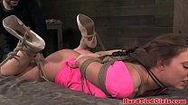 Frogtied hogtied sub object penetrated Preview