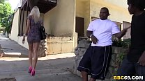 blonde gangbanged by blacks