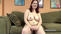 Mature redhead Lia Shade is blowing a dude she ...