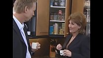 Horst Baron fucks red-haired MILF in office (German porn)