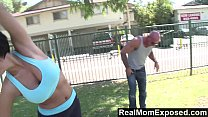 RealMomExposed - Yoga lesson leads to a torrid fucking session