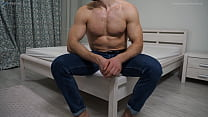 Straight Hairy Hunk Adam Agreed To Pose Naked F