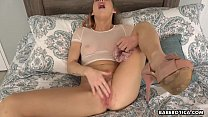 Masturbation session with Carter Cruise is so hot, in 4K