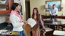 BANGBROS - Flunking Step Daughter Gets A Golden...