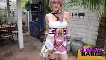 COSPLAY BABES Final Fantasy Babe cums - BigCams.net