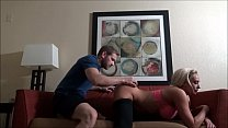 Massaging Mom After Her Workout - Olivia Fox - Family Therapy - Preview thumbnail