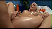 Teen playgirl gives up the pink to her rubber Thumbnail