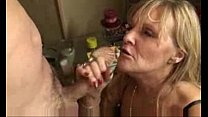 granny swallows sperm