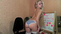 Dildo blonde deepthroating for that interfere