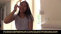 Image: QUEST FOR ORGASM - Asian teen beauty May Thai in for erotic orgasm with vibrators